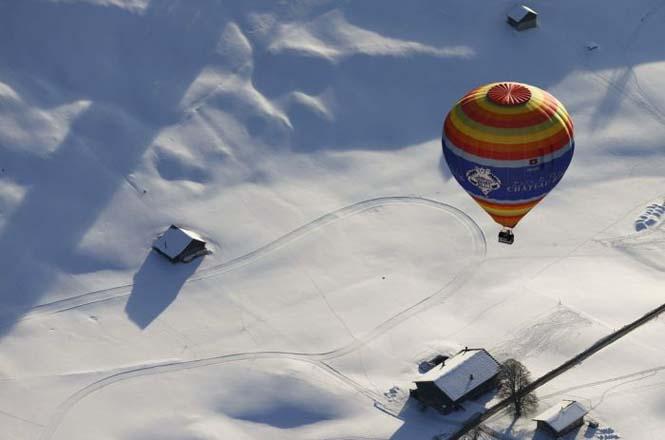 Εκπληκτικές φωτογραφίες από το Διεθνές Φεστιβάλ Αερόστατου στην Ελβετία (7)