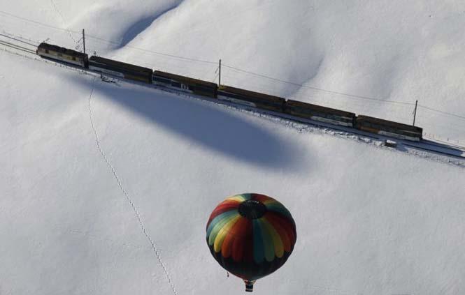 Εκπληκτικές φωτογραφίες από το Διεθνές Φεστιβάλ Αερόστατου στην Ελβετία (8)