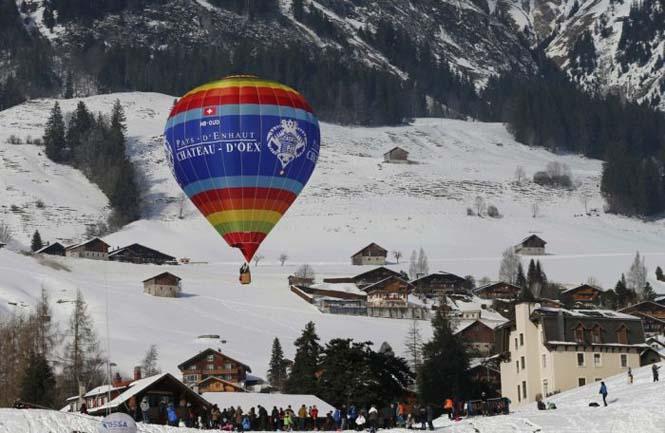 Εκπληκτικές φωτογραφίες από το Διεθνές Φεστιβάλ Αερόστατου στην Ελβετία (9)