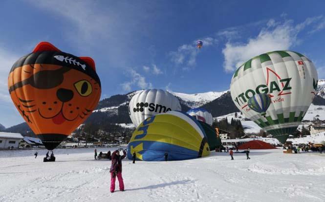 Εκπληκτικές φωτογραφίες από το Διεθνές Φεστιβάλ Αερόστατου στην Ελβετία (10)