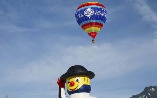Εκπληκτικές φωτογραφίες από το Διεθνές Φεστιβάλ Αερόστατου στην Ελβετία (11)
