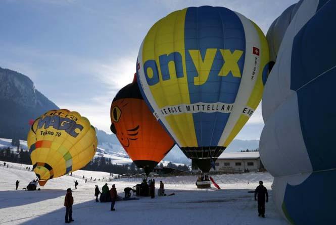 Εκπληκτικές φωτογραφίες από το Διεθνές Φεστιβάλ Αερόστατου στην Ελβετία (12)