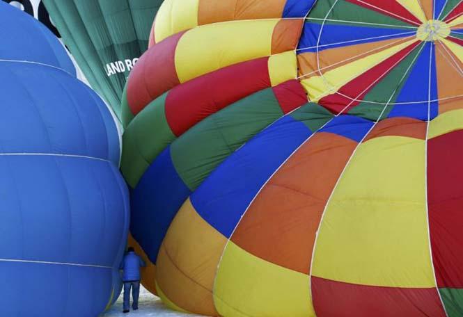 Εκπληκτικές φωτογραφίες από το Διεθνές Φεστιβάλ Αερόστατου στην Ελβετία (13)