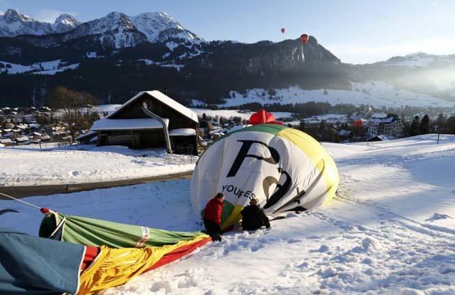 Εκπληκτικές φωτογραφίες από το Διεθνές Φεστιβάλ Αερόστατου στην Ελβετία (15)