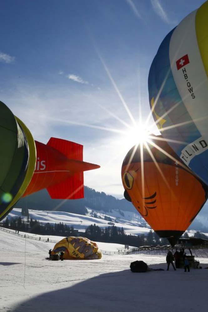 Εκπληκτικές φωτογραφίες από το Διεθνές Φεστιβάλ Αερόστατου στην Ελβετία (16)