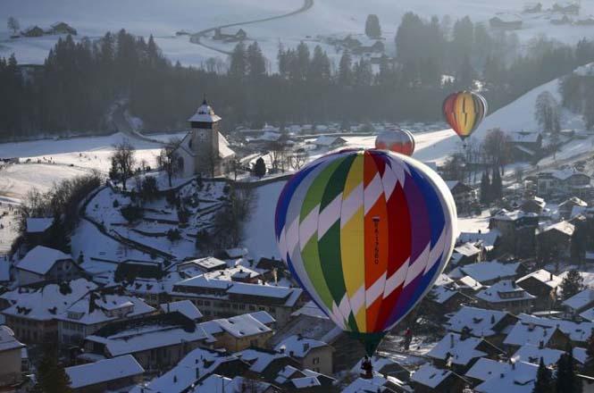 Εκπληκτικές φωτογραφίες από το Διεθνές Φεστιβάλ Αερόστατου στην Ελβετία (17)