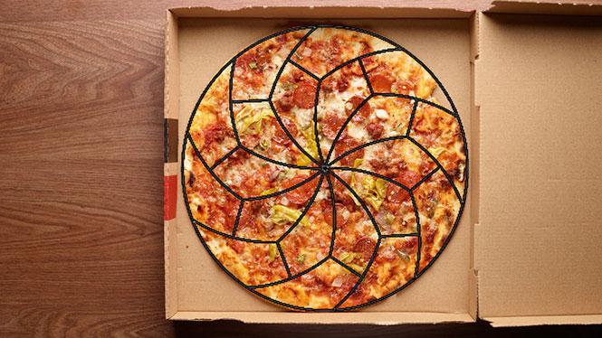 Ο επιστημονικά τέλειος τρόπος για να κοπεί μία πίτσα (1)