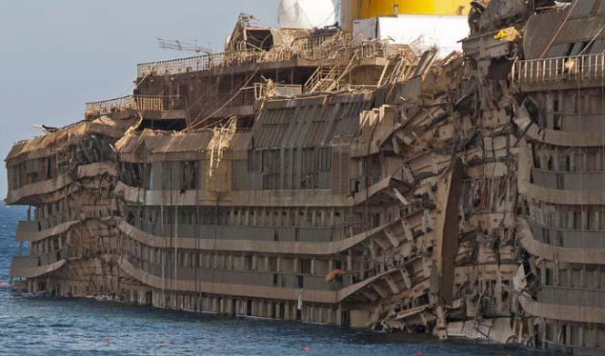 Φωτογραφίες από το εσωτερικό του Costa Concordia (1)