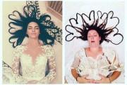 Γυναίκα αναπαριστά φωτογραφίες διασήμων με ξεκαρδιστικά αποτελέσματα (11)