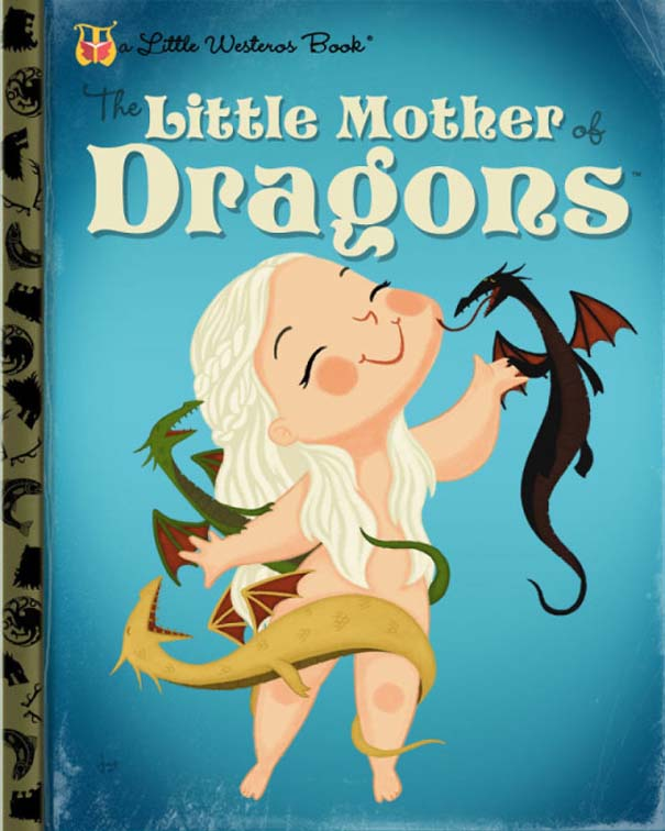 Καλλιτέχνης μετατρέπει διάσημους χαρακτήρες σε πρωταγωνιστές παιδικών βιβλίων (1)