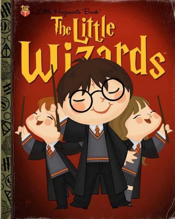 Καλλιτέχνης μετατρέπει διάσημους χαρακτήρες σε πρωταγωνιστές παιδικών βιβλίων (3)
