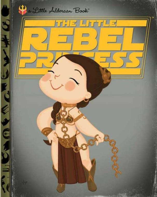 Καλλιτέχνης μετατρέπει διάσημους χαρακτήρες σε πρωταγωνιστές παιδικών βιβλίων (4)