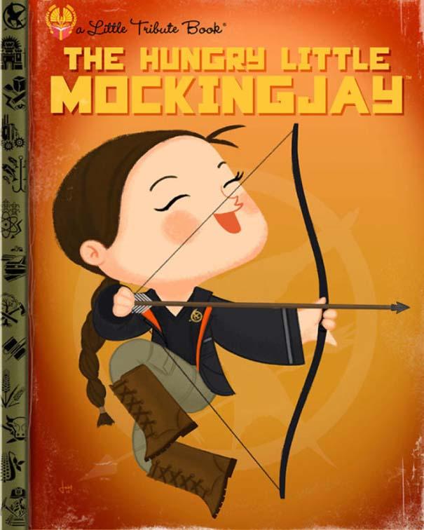 Καλλιτέχνης μετατρέπει διάσημους χαρακτήρες σε πρωταγωνιστές παιδικών βιβλίων (5)