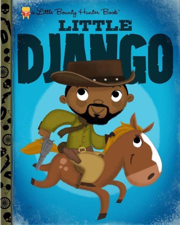 Καλλιτέχνης μετατρέπει διάσημους χαρακτήρες σε πρωταγωνιστές παιδικών βιβλίων (7)