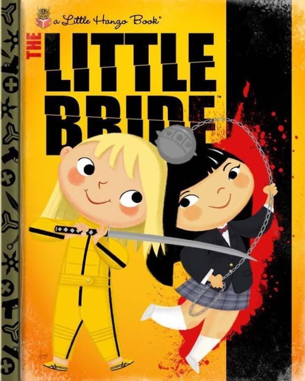 Καλλιτέχνης μετατρέπει διάσημους χαρακτήρες σε πρωταγωνιστές παιδικών βιβλίων (9)