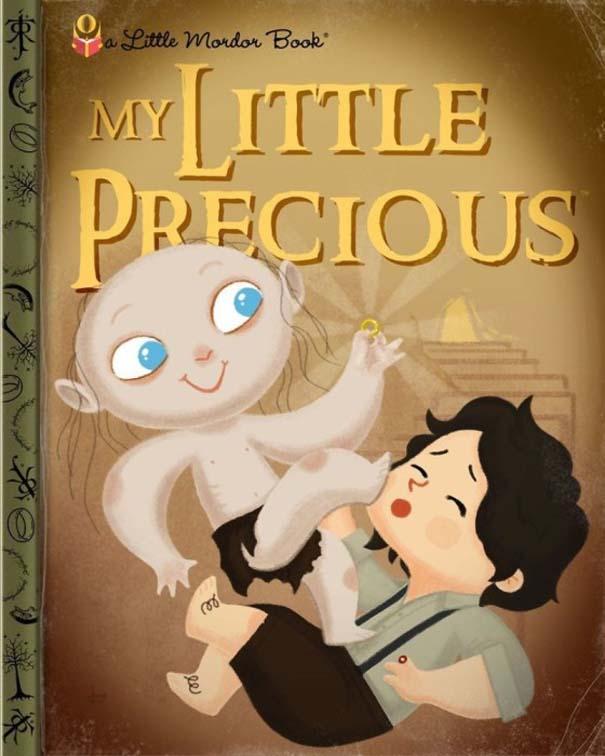 Καλλιτέχνης μετατρέπει διάσημους χαρακτήρες σε πρωταγωνιστές παιδικών βιβλίων (12)