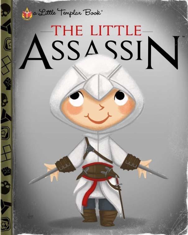 Καλλιτέχνης μετατρέπει διάσημους χαρακτήρες σε πρωταγωνιστές παιδικών βιβλίων (14)
