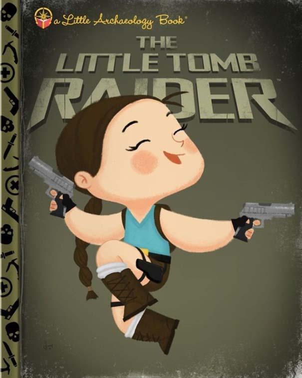 Καλλιτέχνης μετατρέπει διάσημους χαρακτήρες σε πρωταγωνιστές παιδικών βιβλίων (15)