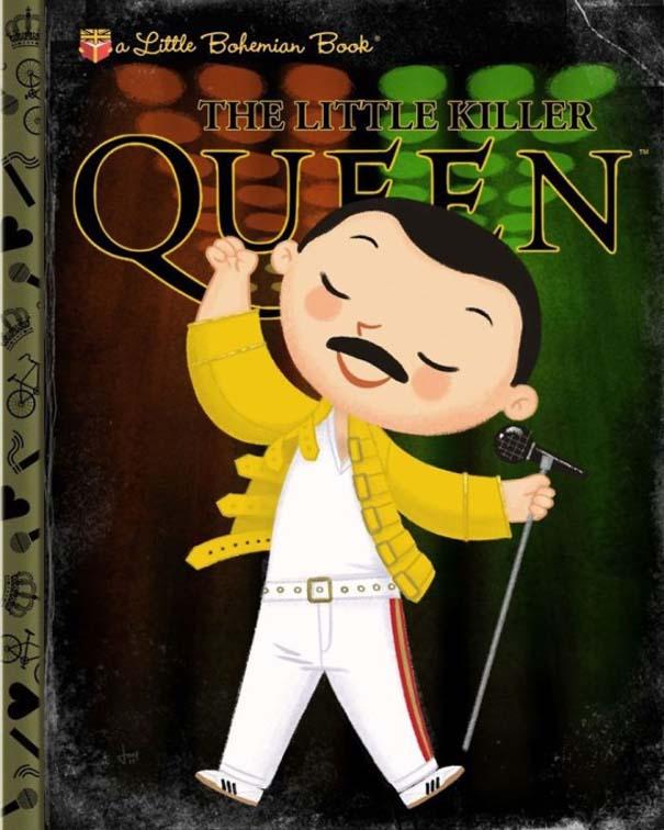 Καλλιτέχνης μετατρέπει διάσημους χαρακτήρες σε πρωταγωνιστές παιδικών βιβλίων (16)