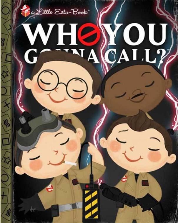 Καλλιτέχνης μετατρέπει διάσημους χαρακτήρες σε πρωταγωνιστές παιδικών βιβλίων (17)