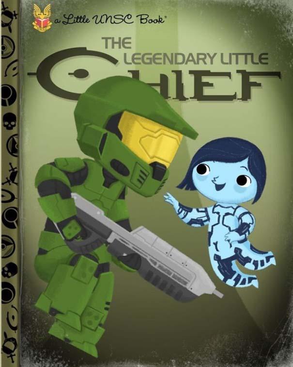 Καλλιτέχνης μετατρέπει διάσημους χαρακτήρες σε πρωταγωνιστές παιδικών βιβλίων (18)