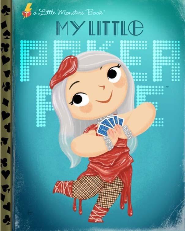 Καλλιτέχνης μετατρέπει διάσημους χαρακτήρες σε πρωταγωνιστές παιδικών βιβλίων (19)