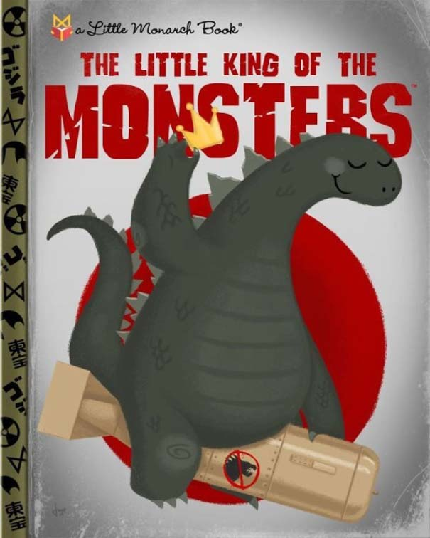 Καλλιτέχνης μετατρέπει διάσημους χαρακτήρες σε πρωταγωνιστές παιδικών βιβλίων (20)