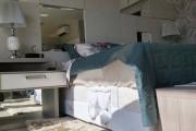 Κρεβάτι με ειδική θέση για το κατοικίδιο (1)