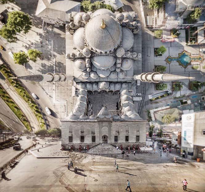 Καλλιτέχνης μετατρέπει φωτογραφίες της Κωνσταντινούπολης σε τοπία βγαλμένα από το Inception (9)