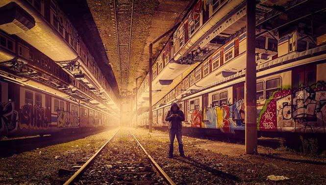 Καλλιτέχνης μετατρέπει φωτογραφίες της Κωνσταντινούπολης σε τοπία βγαλμένα από το Inception (10)