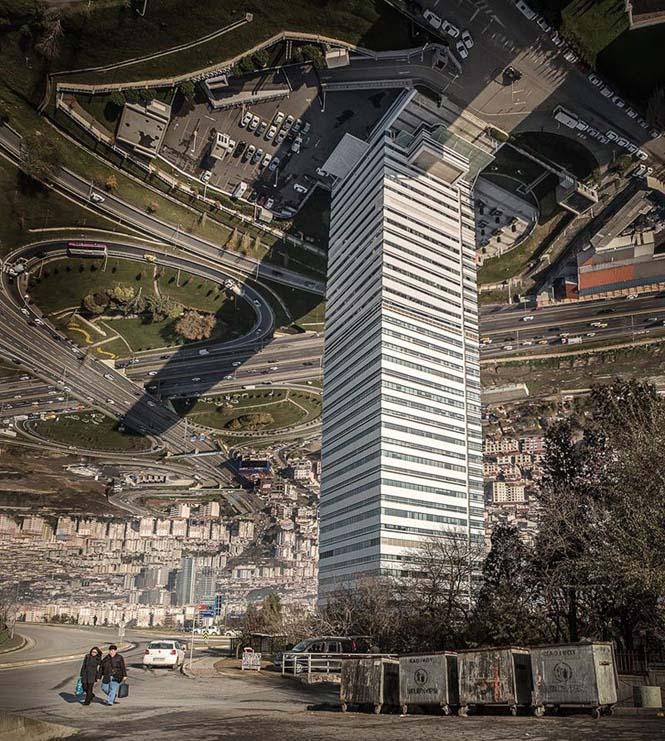 Καλλιτέχνης μετατρέπει φωτογραφίες της Κωνσταντινούπολης σε τοπία βγαλμένα από το Inception (11)