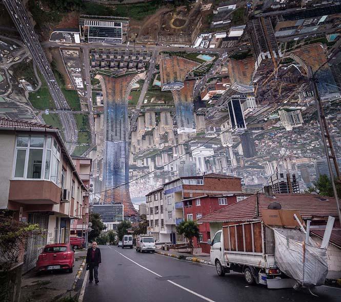 Καλλιτέχνης μετατρέπει φωτογραφίες της Κωνσταντινούπολης σε τοπία βγαλμένα από το Inception (12)