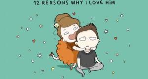 Σκιτσογράφος αποκαλύπτει 12 λόγους που αγαπάει το αγόρι της μέσα από ξεκαρδιστικά σκίτσα