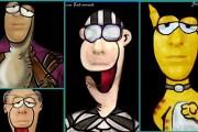 Makeup artist από την Πάτρα μεταμορφώνεται σε χαρακτήρες του Αρκά (1)