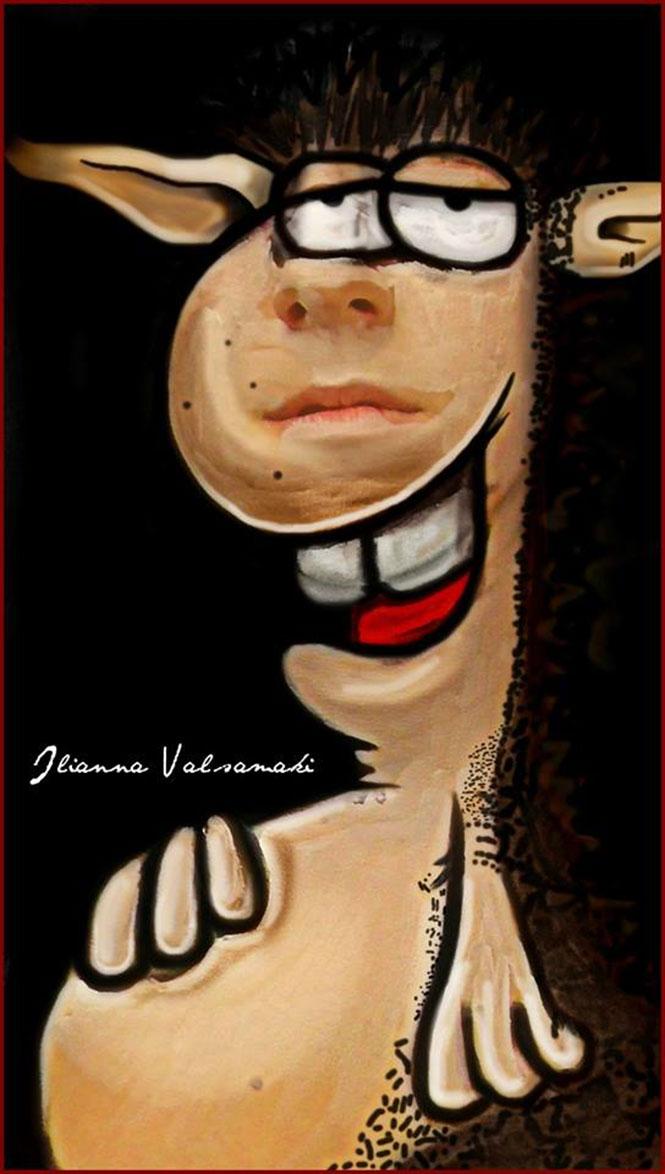 Makeup artist από την Πάτρα μεταμορφώνεται σε χαρακτήρες του Αρκά (5)