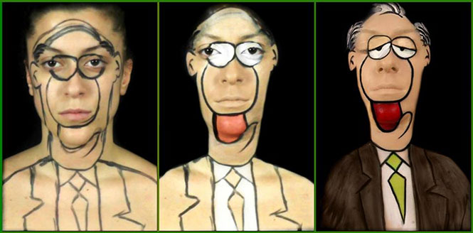Makeup artist από την Πάτρα μεταμορφώνεται σε χαρακτήρες του Αρκά (7)