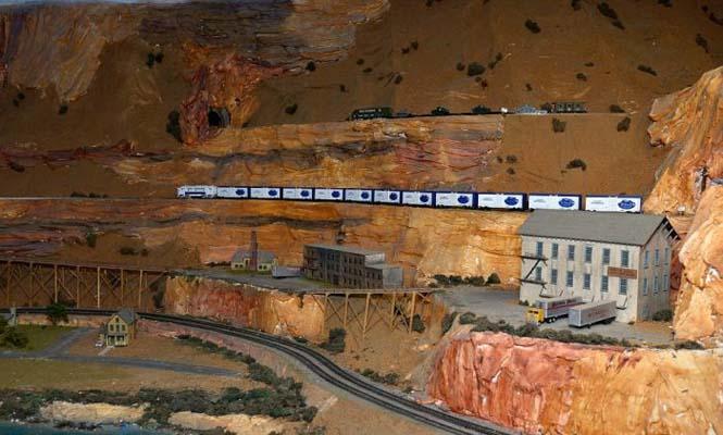 Ο μεγαλύτερος σιδηρόδρομος μοντελισμού στον κόσμο (6)