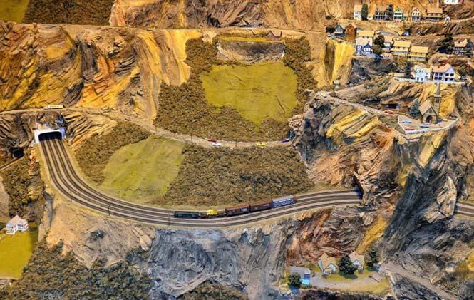 Ο μεγαλύτερος σιδηρόδρομος μοντελισμού στον κόσμο (9)