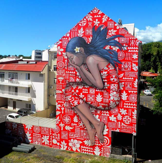 Γάλλος καλλιτέχνης μεταμορφώνει βαρετά κτήρια σε εντυπωσιακά έργα τέχνης (12)
