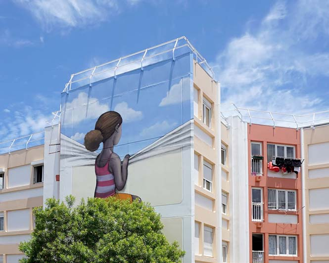 Γάλλος καλλιτέχνης μεταμορφώνει βαρετά κτήρια σε εντυπωσιακά έργα τέχνης (13)