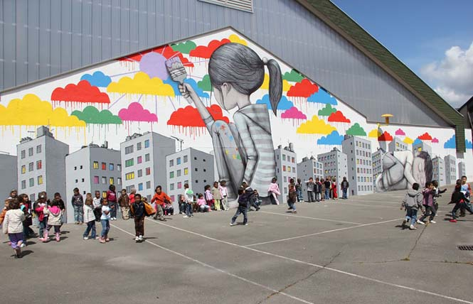 Γάλλος καλλιτέχνης μεταμορφώνει βαρετά κτήρια σε εντυπωσιακά έργα τέχνης (15)