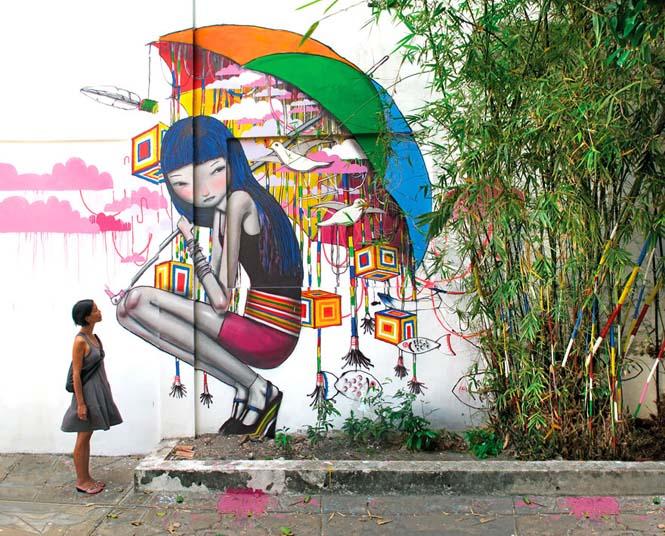 Γάλλος καλλιτέχνης μεταμορφώνει βαρετά κτήρια σε εντυπωσιακά έργα τέχνης (21)