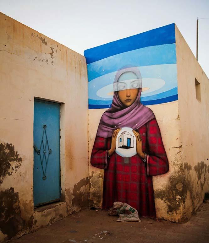 Γάλλος καλλιτέχνης μεταμορφώνει βαρετά κτήρια σε εντυπωσιακά έργα τέχνης (22)