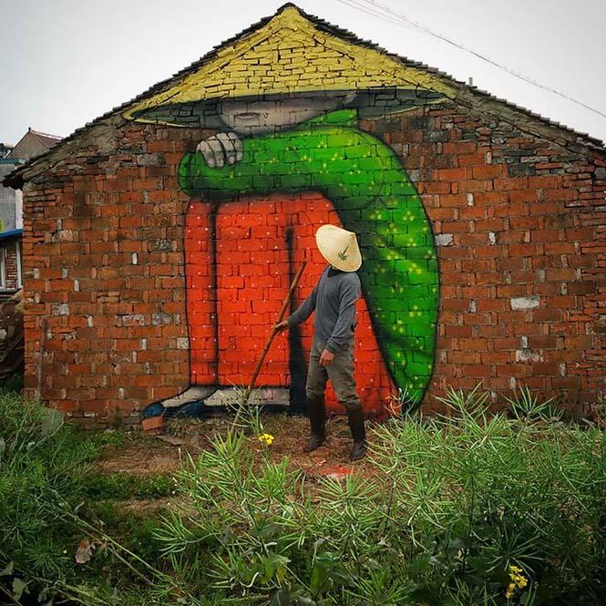 Γάλλος καλλιτέχνης μεταμορφώνει βαρετά κτήρια σε εντυπωσιακά έργα τέχνης (23)