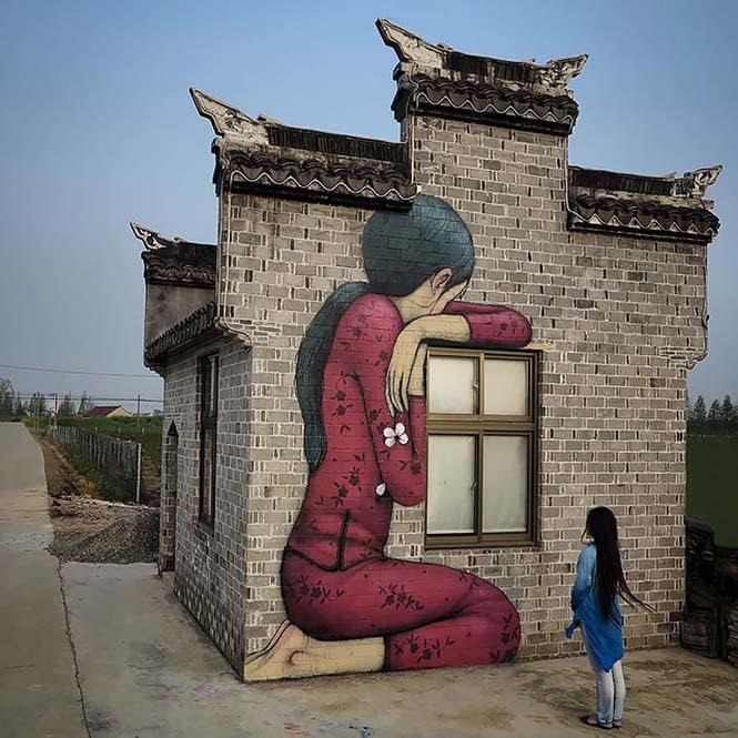 Γάλλος καλλιτέχνης μεταμορφώνει βαρετά κτήρια σε εντυπωσιακά έργα τέχνης (24)
