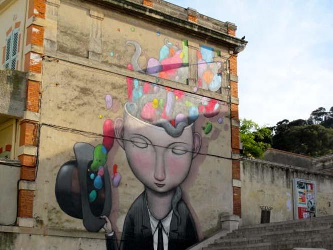 Γάλλος καλλιτέχνης μεταμορφώνει βαρετά κτήρια σε εντυπωσιακά έργα τέχνης (31)