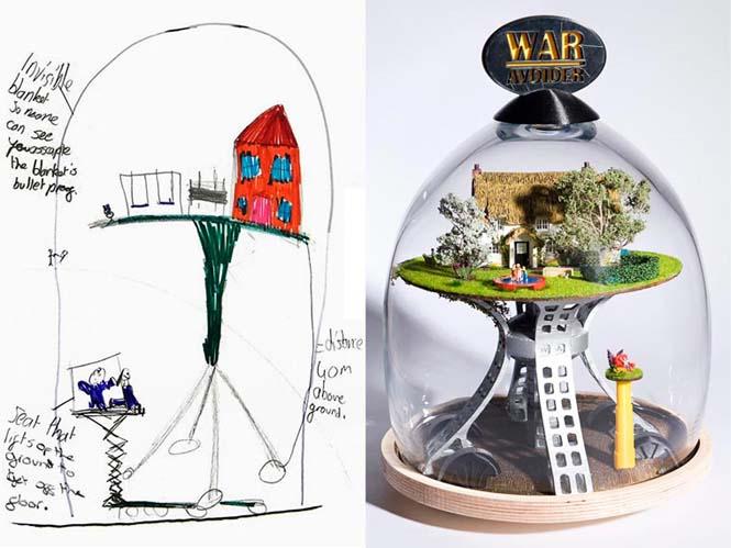 Μετατρέποντας παιδικές ζωγραφιές σε αληθινά αντικείμενα (19)