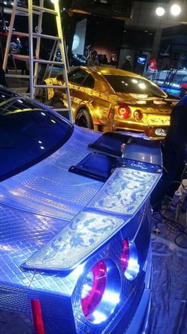Μια από τις πιο περίτεχνες διακοσμήσεις αυτοκινήτων που έχετε δει (25)