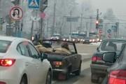 Μόνο στην Ρωσία θα κυκλοφορούσαν έτσι μέσα στον Χειμώνα (1)
