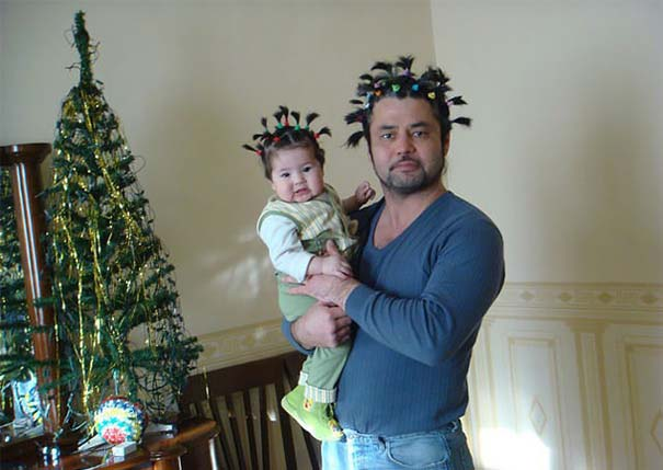 Μπαμπάδες που άφησαν τις κόρες τους να τους κάνουν όμορφους (26)